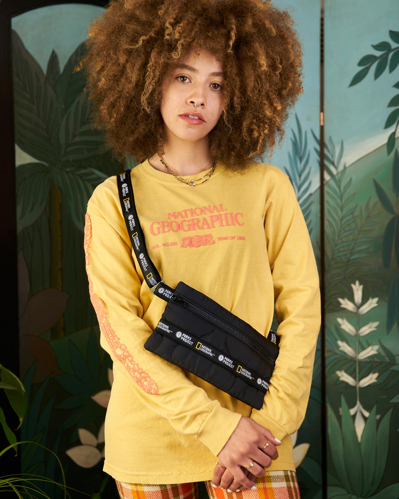National Geographic x Parks Project Upcycled Crossbody | Parks Project | National Park Bag