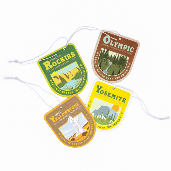 Smell-the-Parks Air Freshener Pack | Parks Project | National Park Gifts