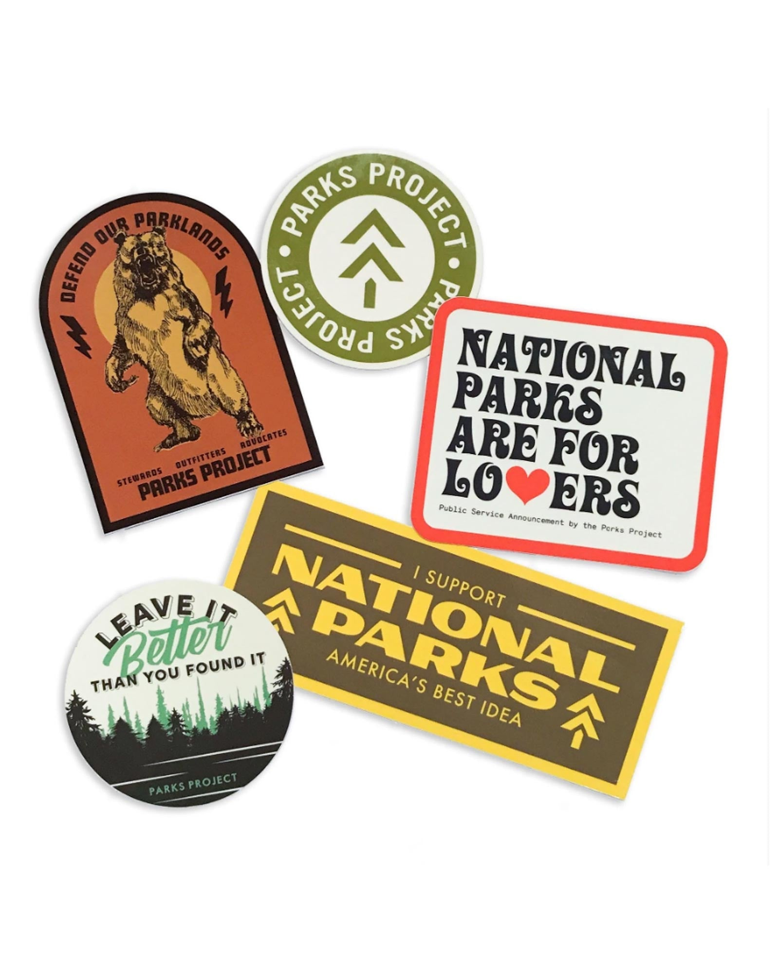 National Parks Advocate Sticker Bundle | Parks Project | National Park Stickers