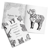 Awesome Animals Coloring Book | National Park Coloring Book | Parks Project