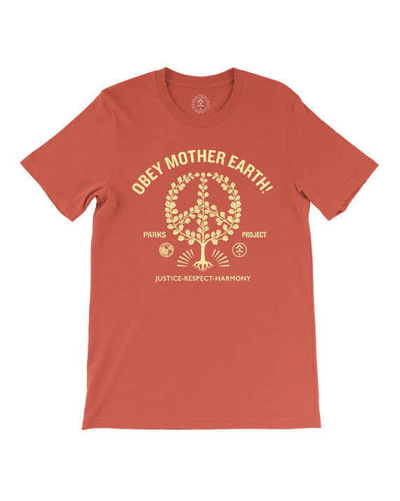 OBEY Mother Earth! | Parks Project | National Park Tee
