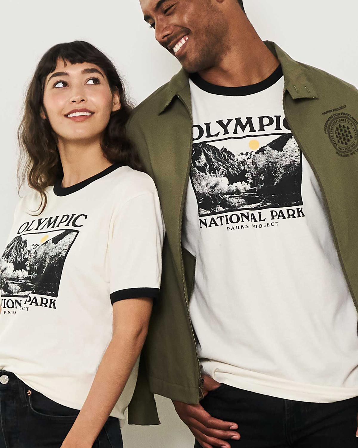 Olympic Photo Ringer Tee | Parks Project | Vintage National Park Ringers