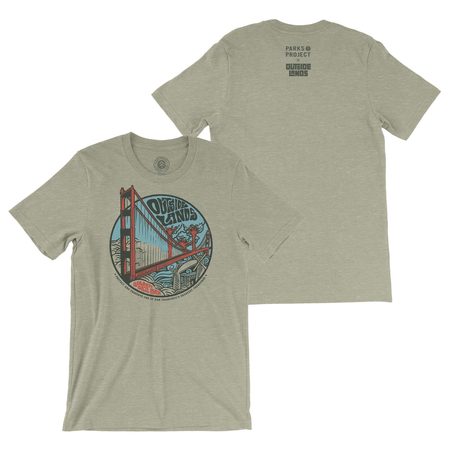 Parks Project x Outside Lands Tee | Parks Project | National Park Shirt