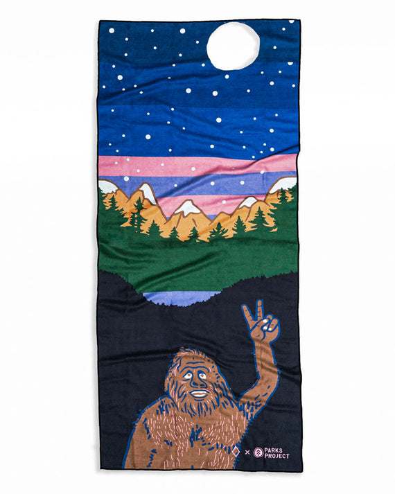 Bigfoot Nomadix Multi-Use Towel | Parks Project | National Parks Yoga Towel