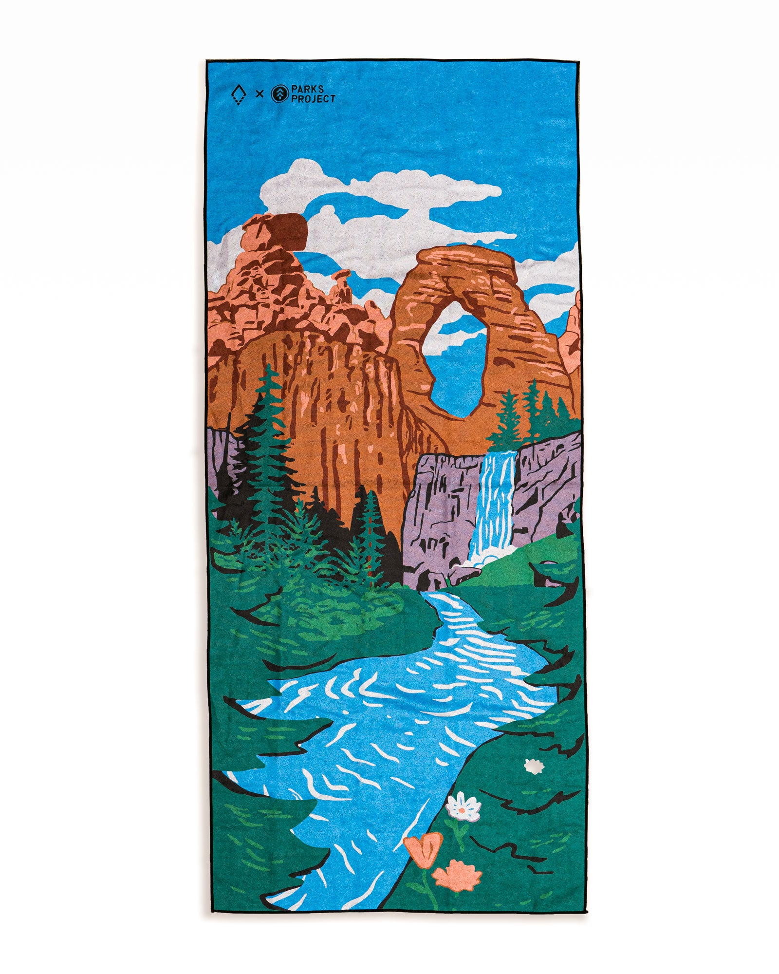National Treasures Nomadix Multi-Use Towel | Parks Project | National Parks Yoga Towel