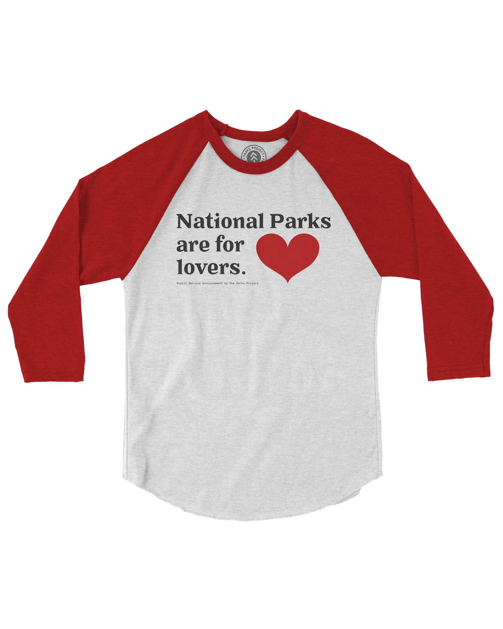 Parks for Lovers Youth Raglan | Parks Project | National Parks Kids Tees