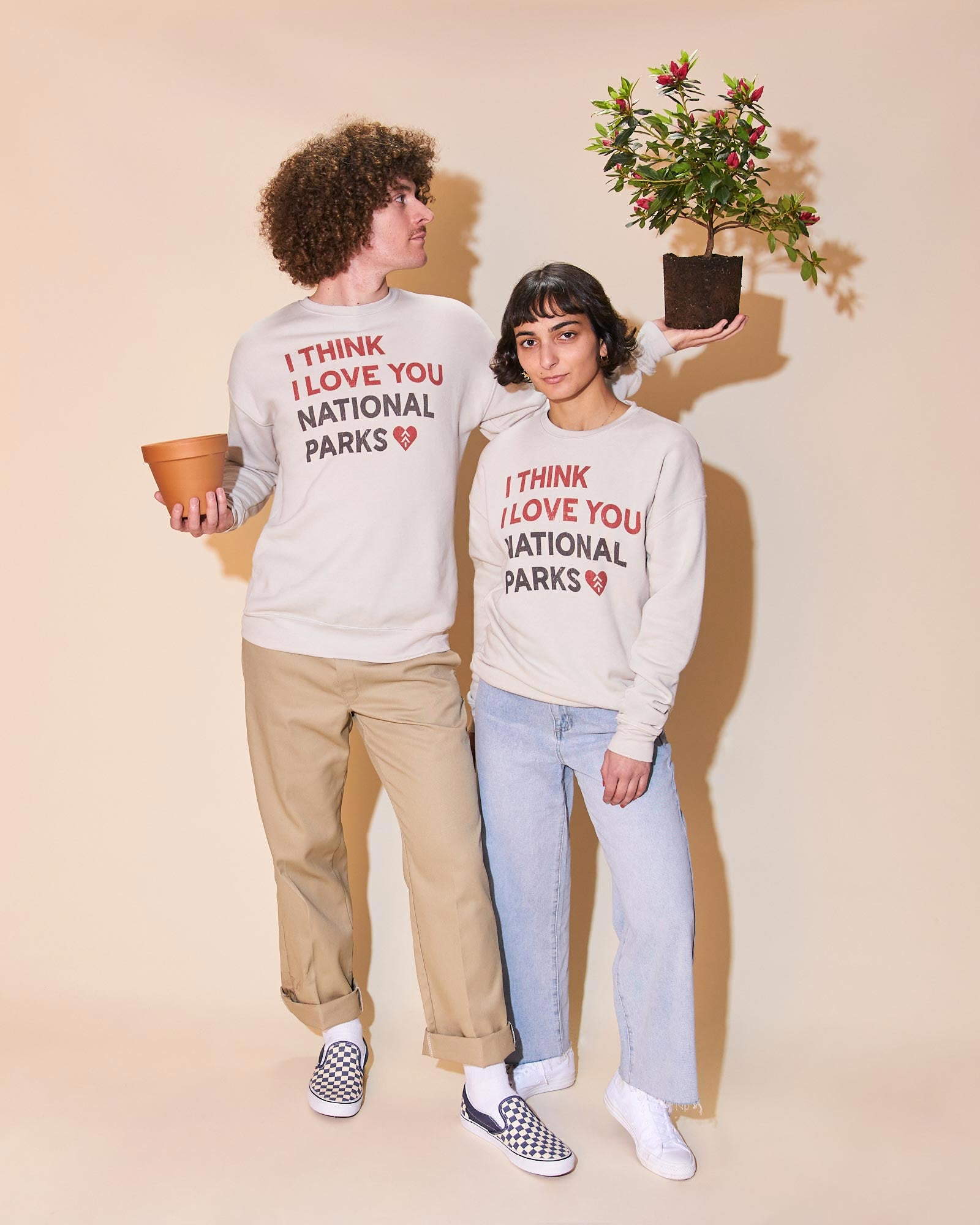 I Think I Love You Crew Sweatshirt