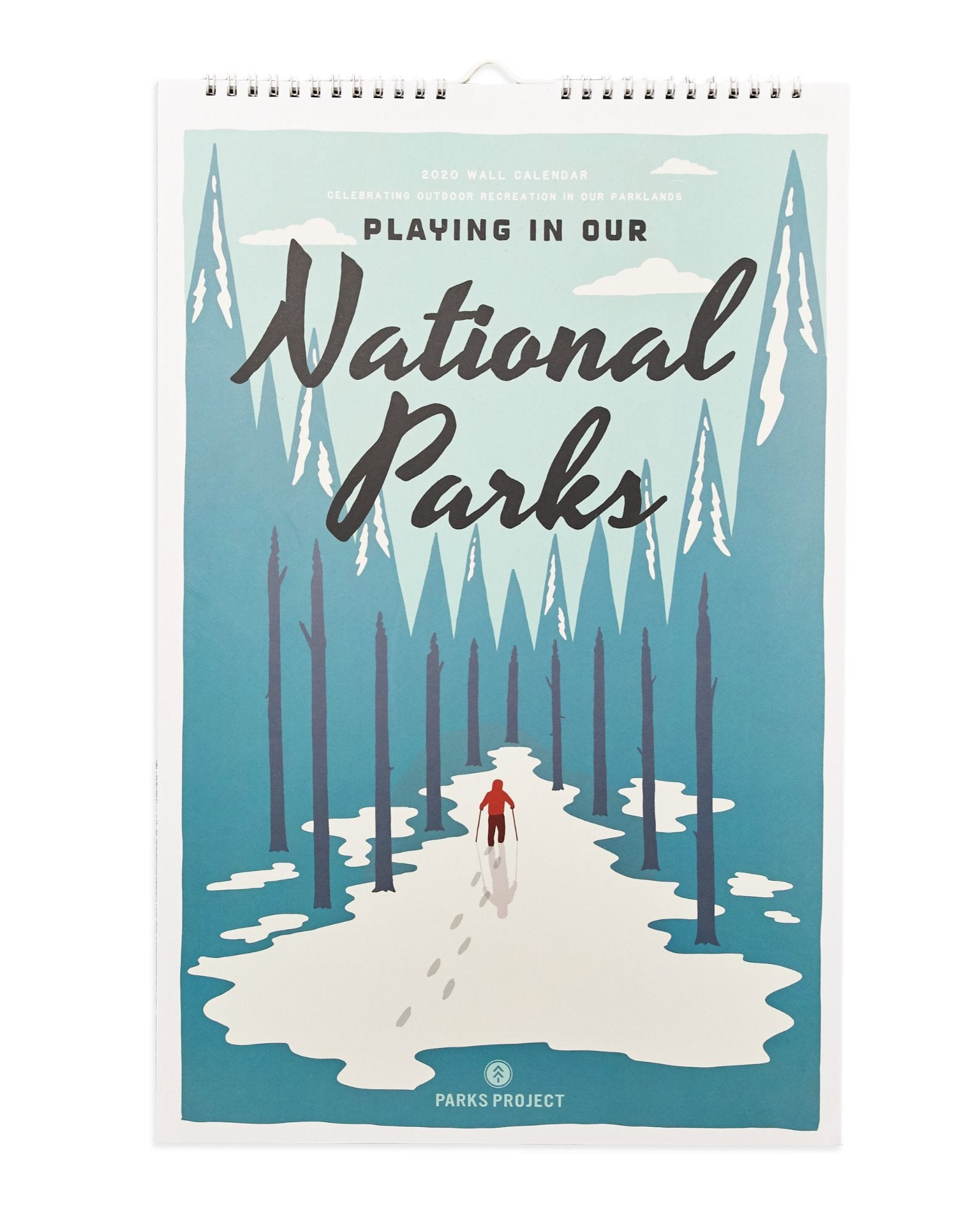 Playing in Our National Parks 2020 Wall Calendar | Parks Project | National Parks Calendar