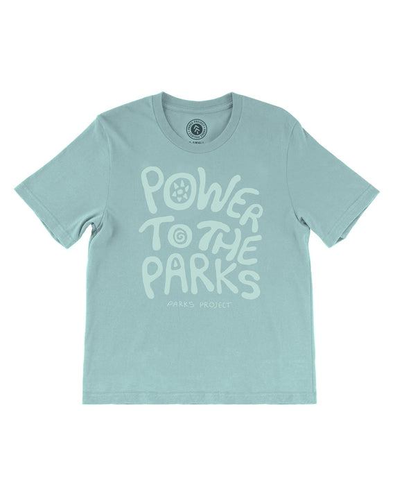 Power To The Parks Womens Tee | Parks Project | National Park Gift