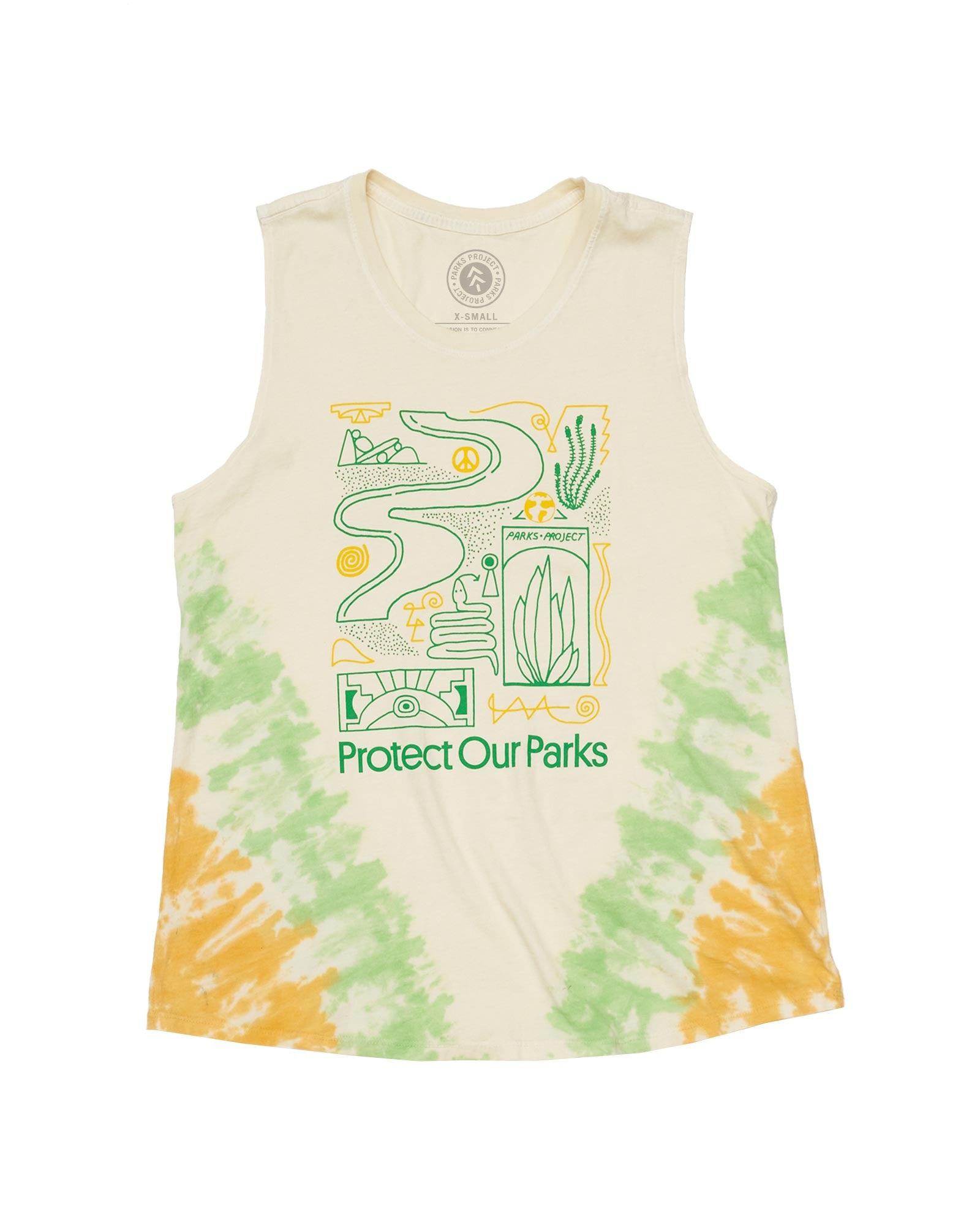 Protect Parks Icons Sleeveless Tank | Parks Project | National Park Tank