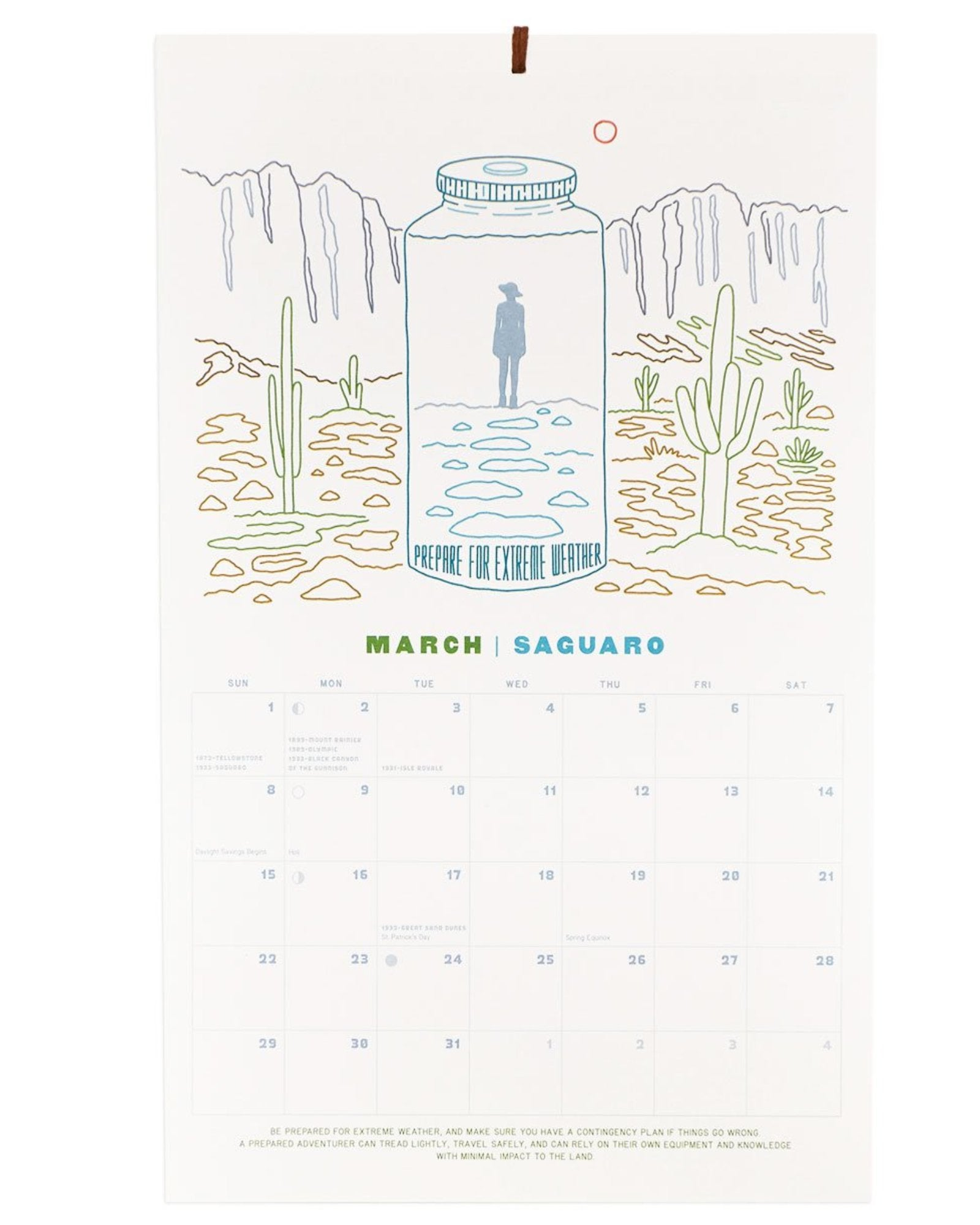 Protect Our National Parks 2020 Wall Calendar