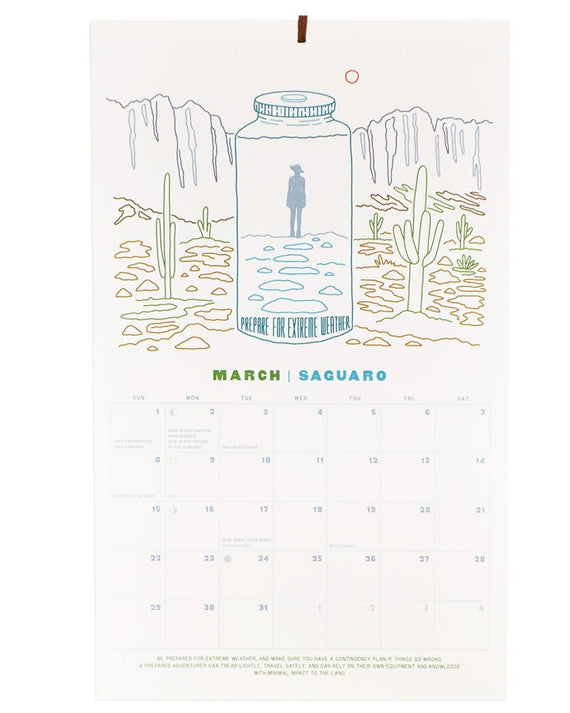 Protect Our National Parks 2020 Wall Calendar | Parks Project | National Park Calendar