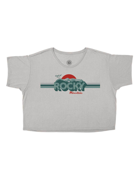 Rocky Mountain Sunrise Crop Top | Parks Project | National Park Crop Tops
