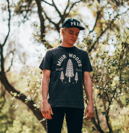 Muir Woods Redwood Tee | Parks Project | National Parks T-Shirt
