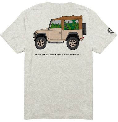 Radtruck in Olympic Tee