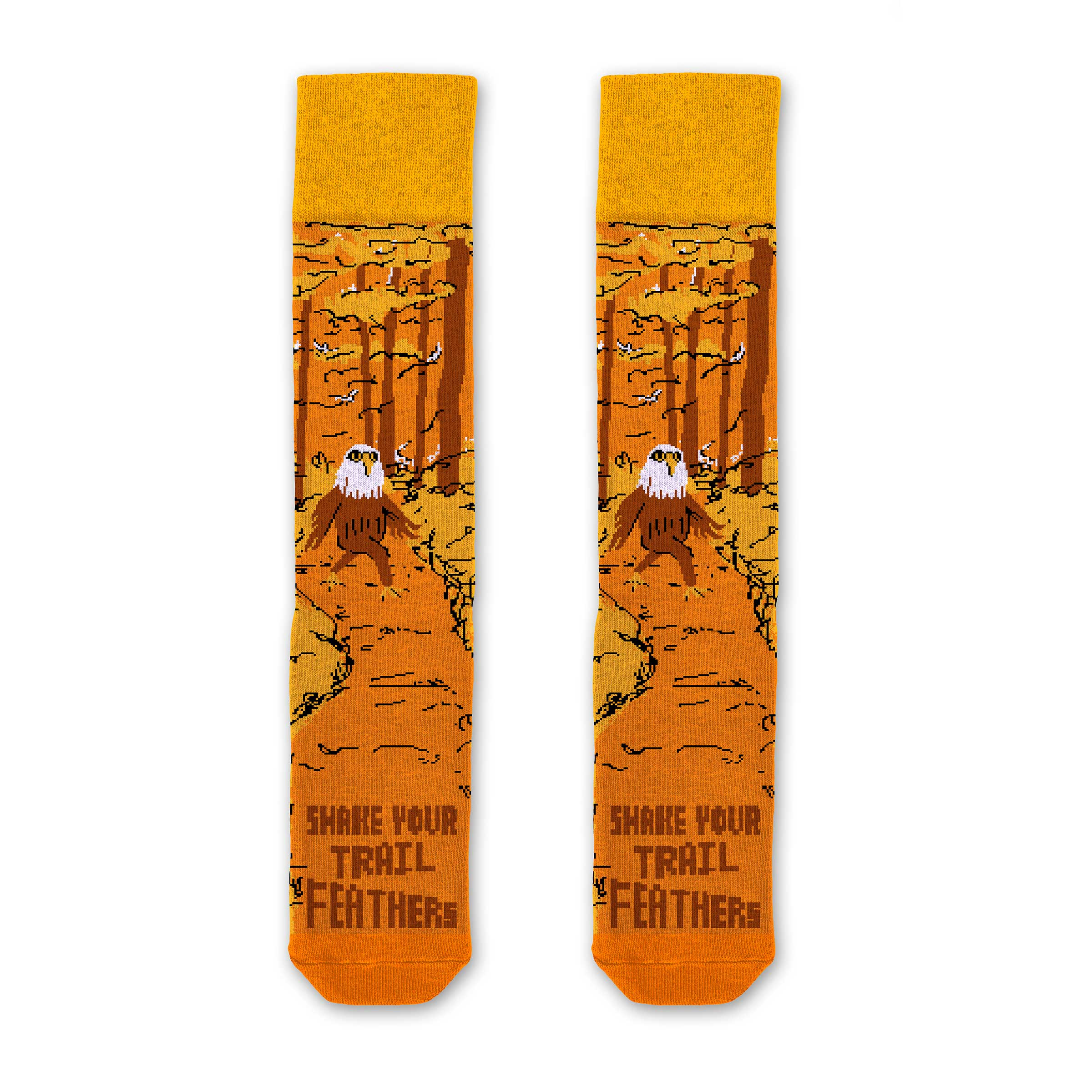Shake Your Trailfeathers Socks | Parks Project | National Park Socks
