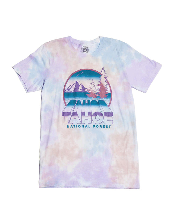 Tahoe Zoom Tie Dye Tee | Parks Project | National Parks Tee