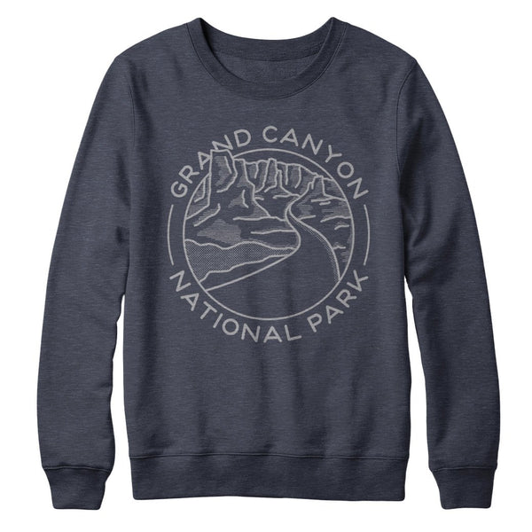 Grand Canyon River Crew Sweatshirt