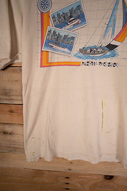 Vintage New York Postcard Tee