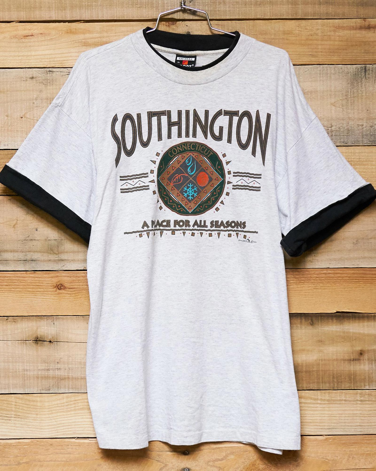 Vintage Southington CT Layered Tee