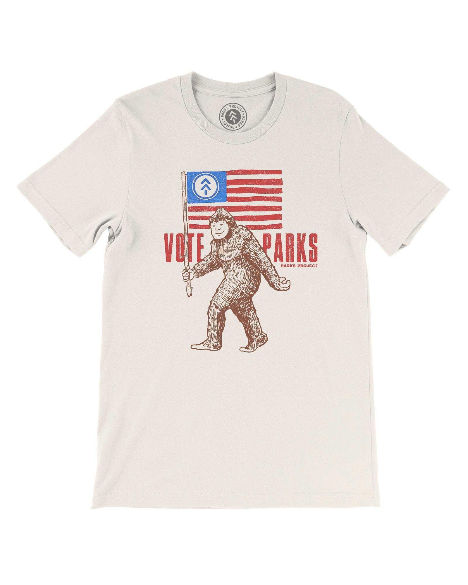 Vote Bigfoot Tee | Parks Project | National Park Tee