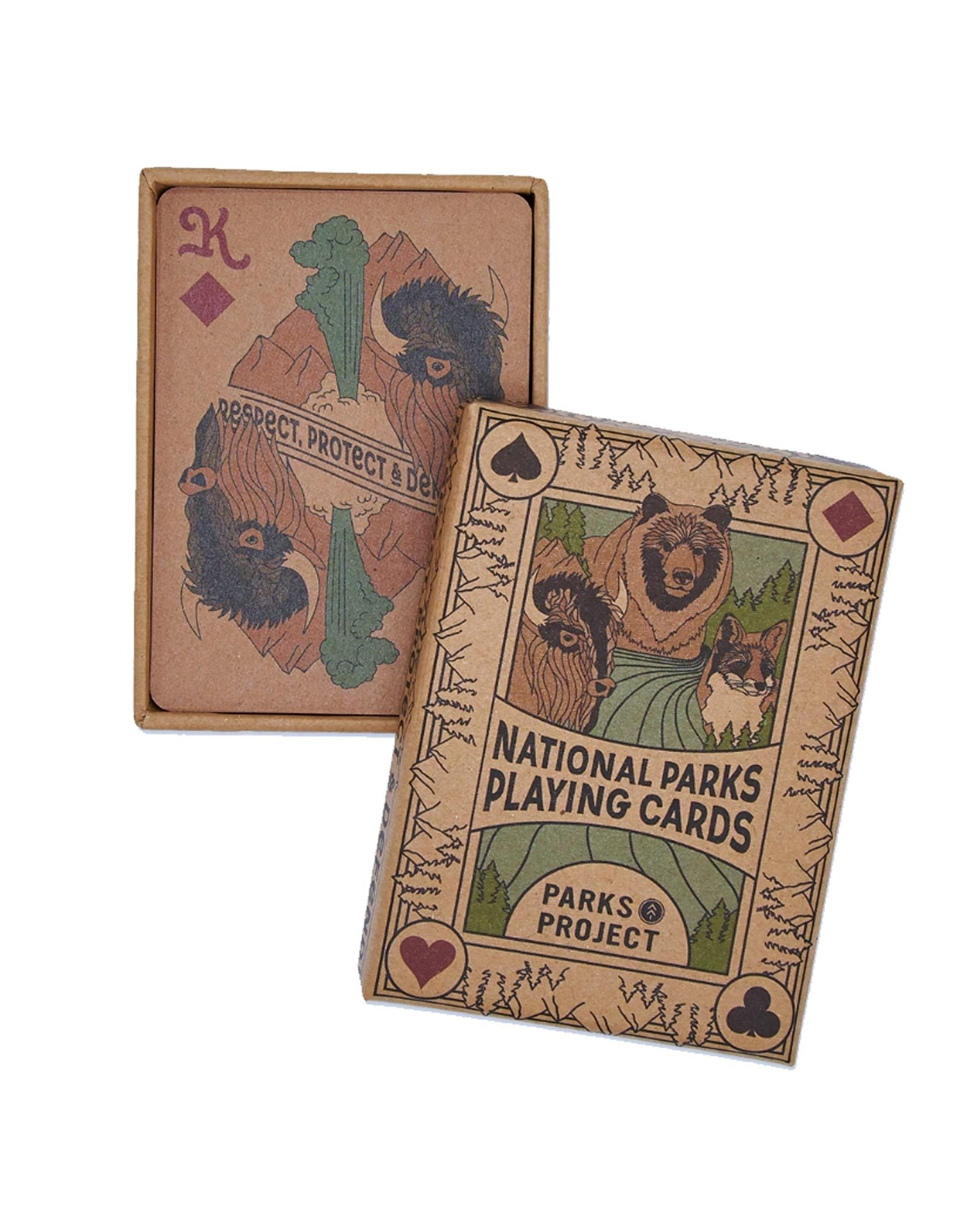 National Park Wildlife Playing Cards | Parks Project | National Park Playing Cards