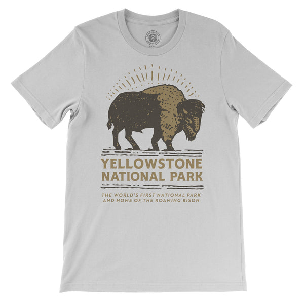 Yellowstone Bison Buddy Tee | Parks Project | National Park Shirts