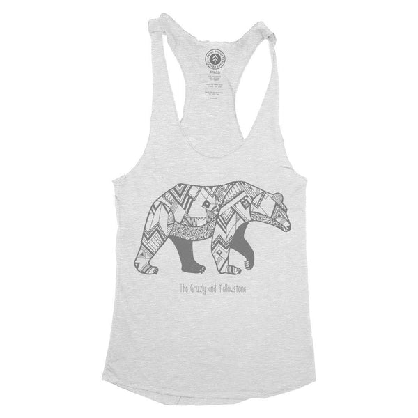 Yellowstone National Park Mascot Racerbank Tank | Parks Project | National Parks Tank Top