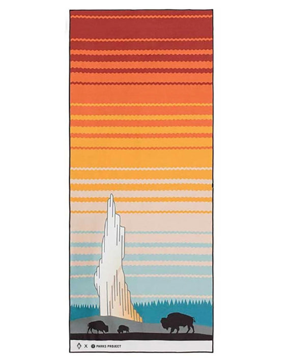 Yellowstone Nomadix Multi-Use Towel | Parks Project | National Parks Yoga Towel