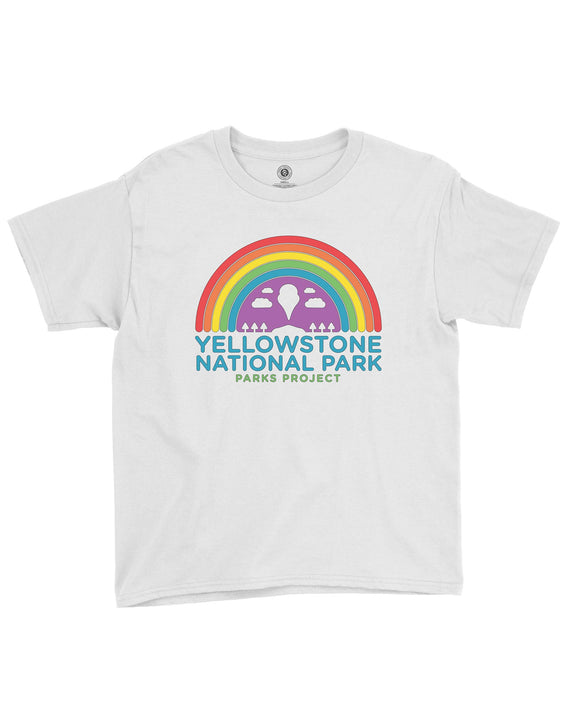 Yellowstone Rainbow Youth Tee | Parks Project | National Park Tee