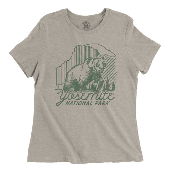 Yosemite Beardom Women's Tee | Parks Project | National Parks Apparel