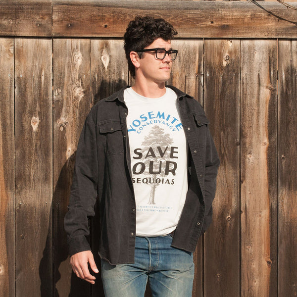 Yosemite Conservancy Save our Sequoias T-Shirt | Parks Project | National Park Conservancy T-Shirts
