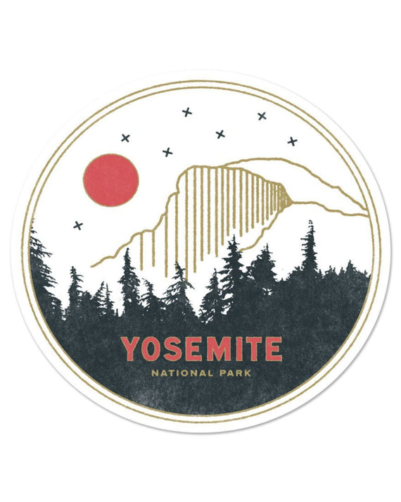 Yosemite National Park Sticker | Parks Project | National Park Stickers