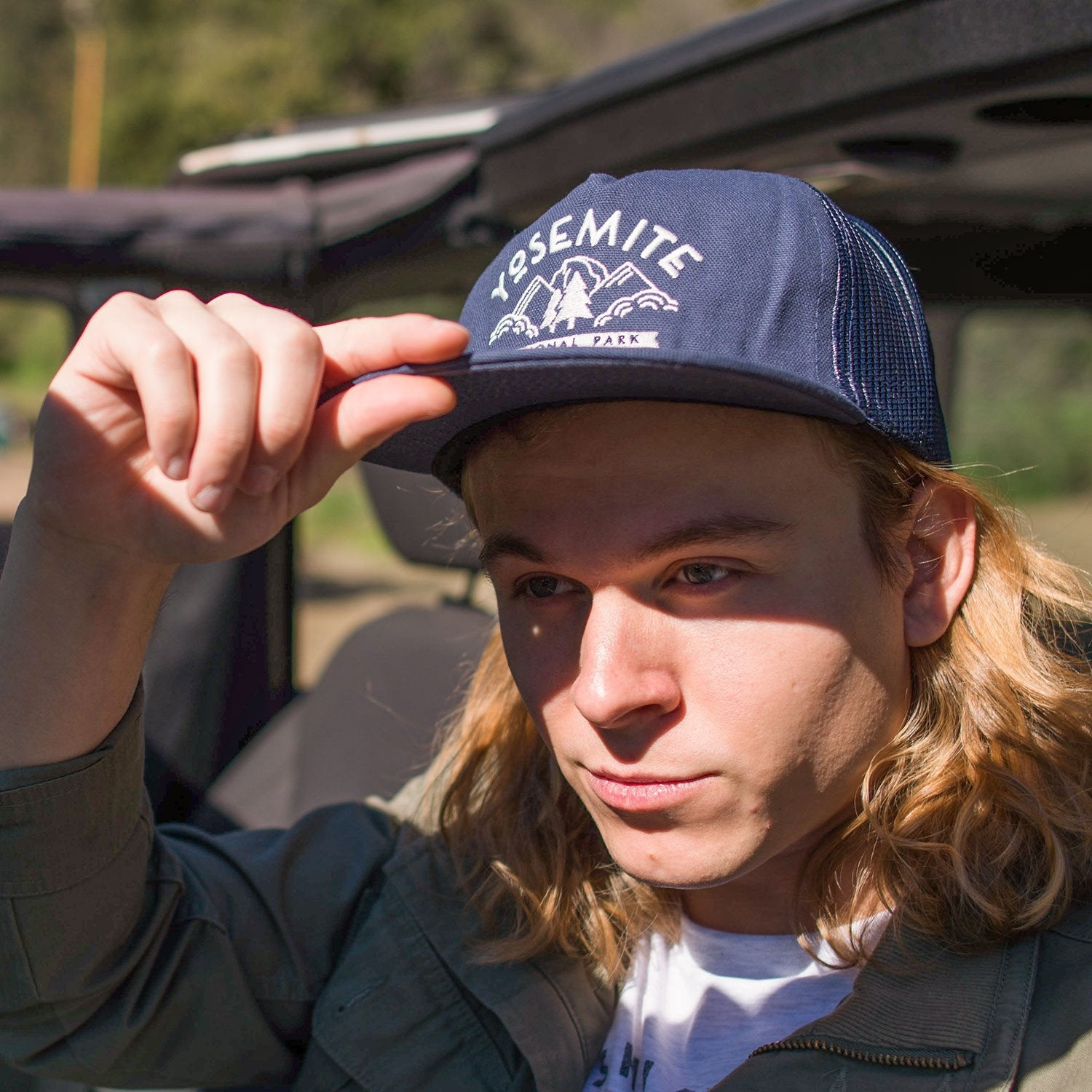 Yosemite National Park Valley View Trucker Hat | Parks Project | National Park Hats