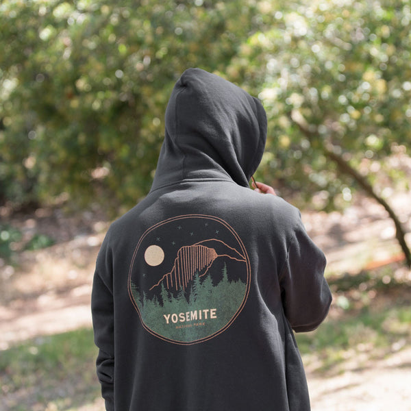 Yosemite National Park Vintage Half Dome Zip Hoodie | Parks Project | National Park Hoodie