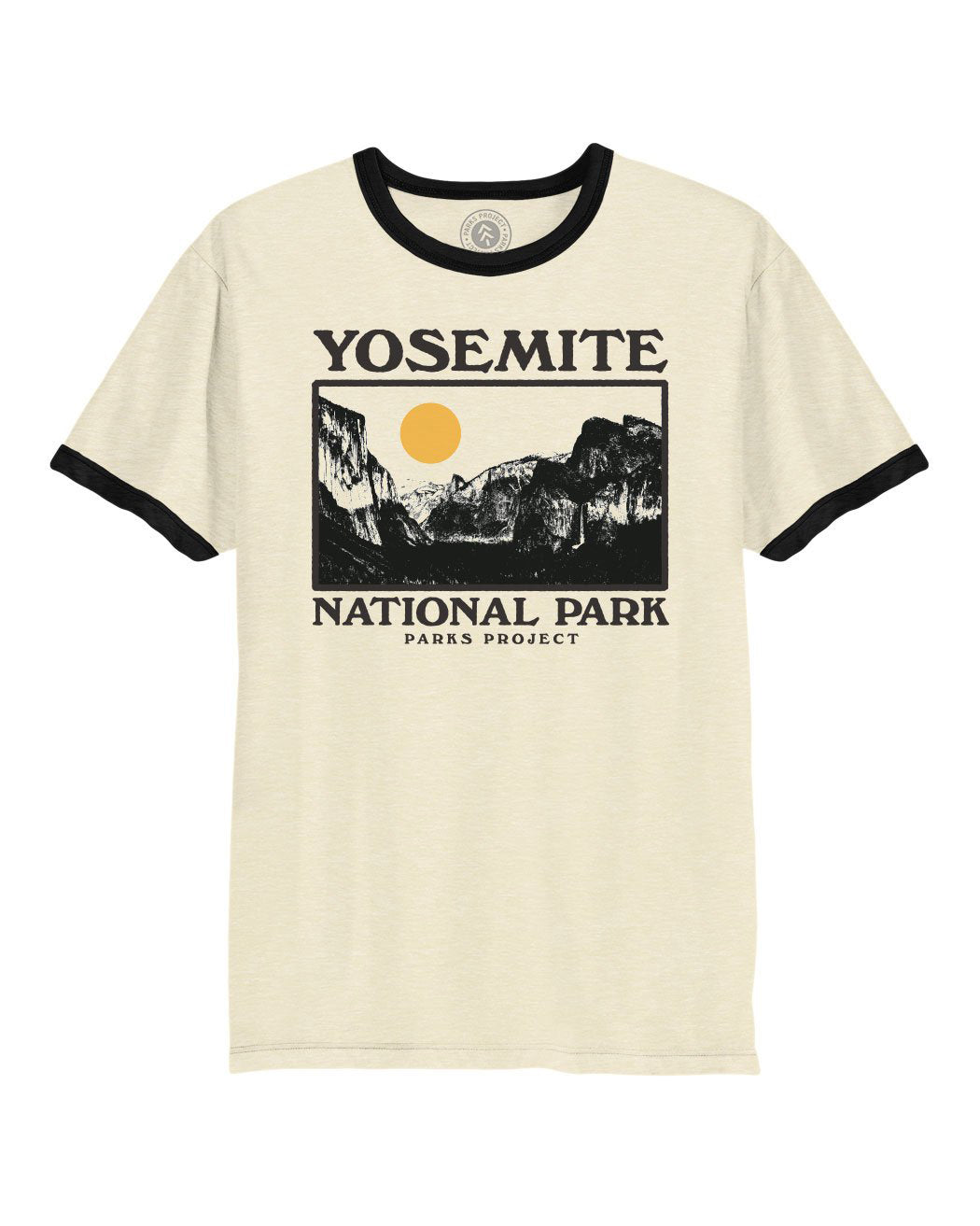 Yosemite Photo Ringer Tee | Parks Project | Vintage National Park Ringer Shirts