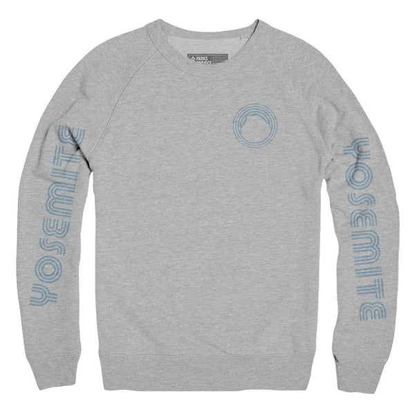 Yosemite National Park Throwback Sweatshirt | Parks Project | National Parks Apparel