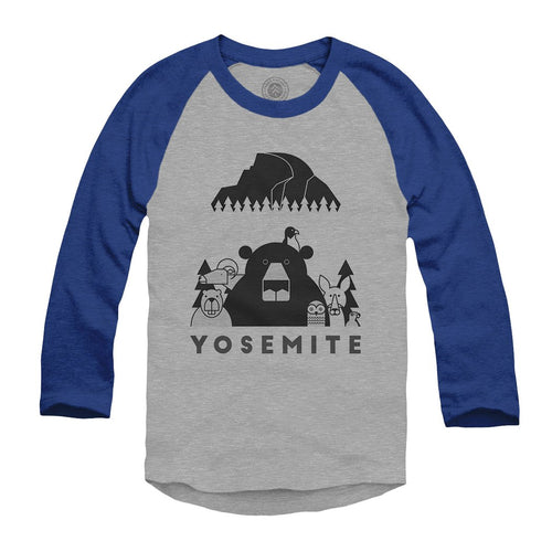 Yosemite Wild Parks Youth Raglan