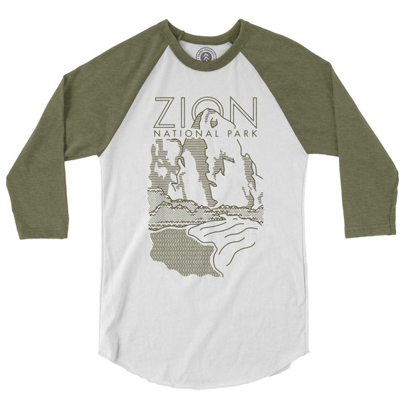 Zion National Park Raglan Tee | Parks Project | National Parks T Shirt