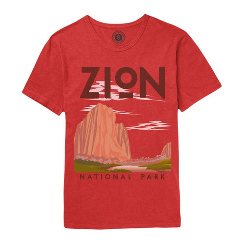 Zion National Park Vintage Poster T-Shirt | Parks Project | National Park Gifts