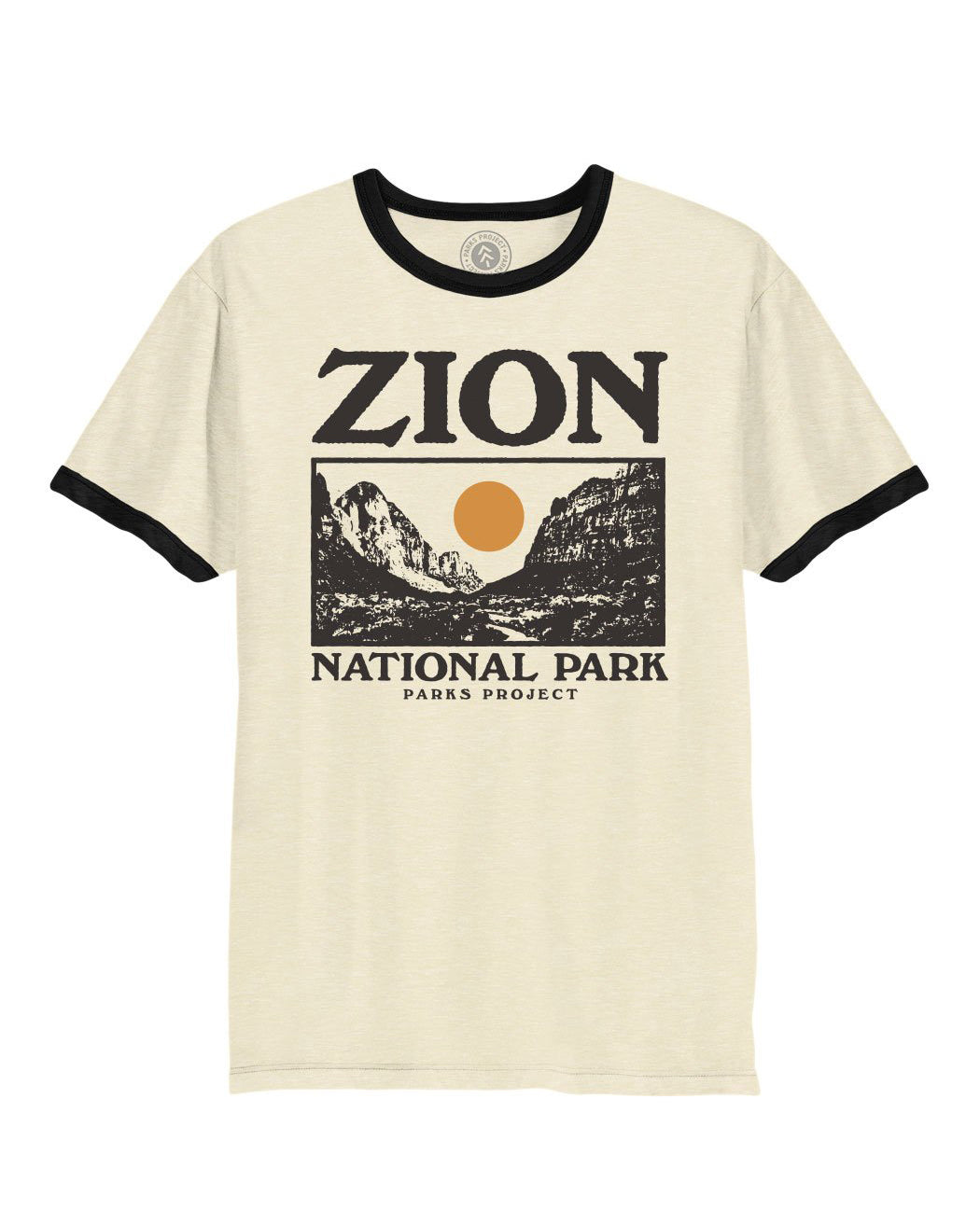 Zion Photo Ringer Tee | Parks Project | Vintage National Park Ringers