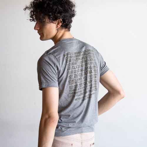 All 60 National Parks Tee | Parks Project | National Parks Clothing
