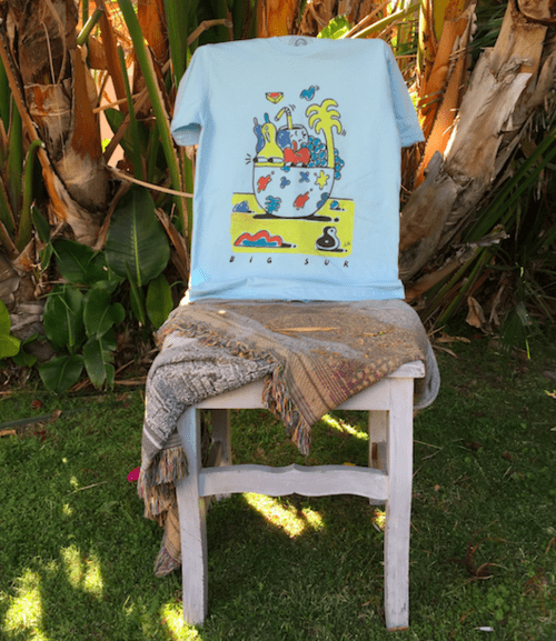 Steven Harrington Big Sur Party Vase Tee | Parks Project | National Parks T Shirt