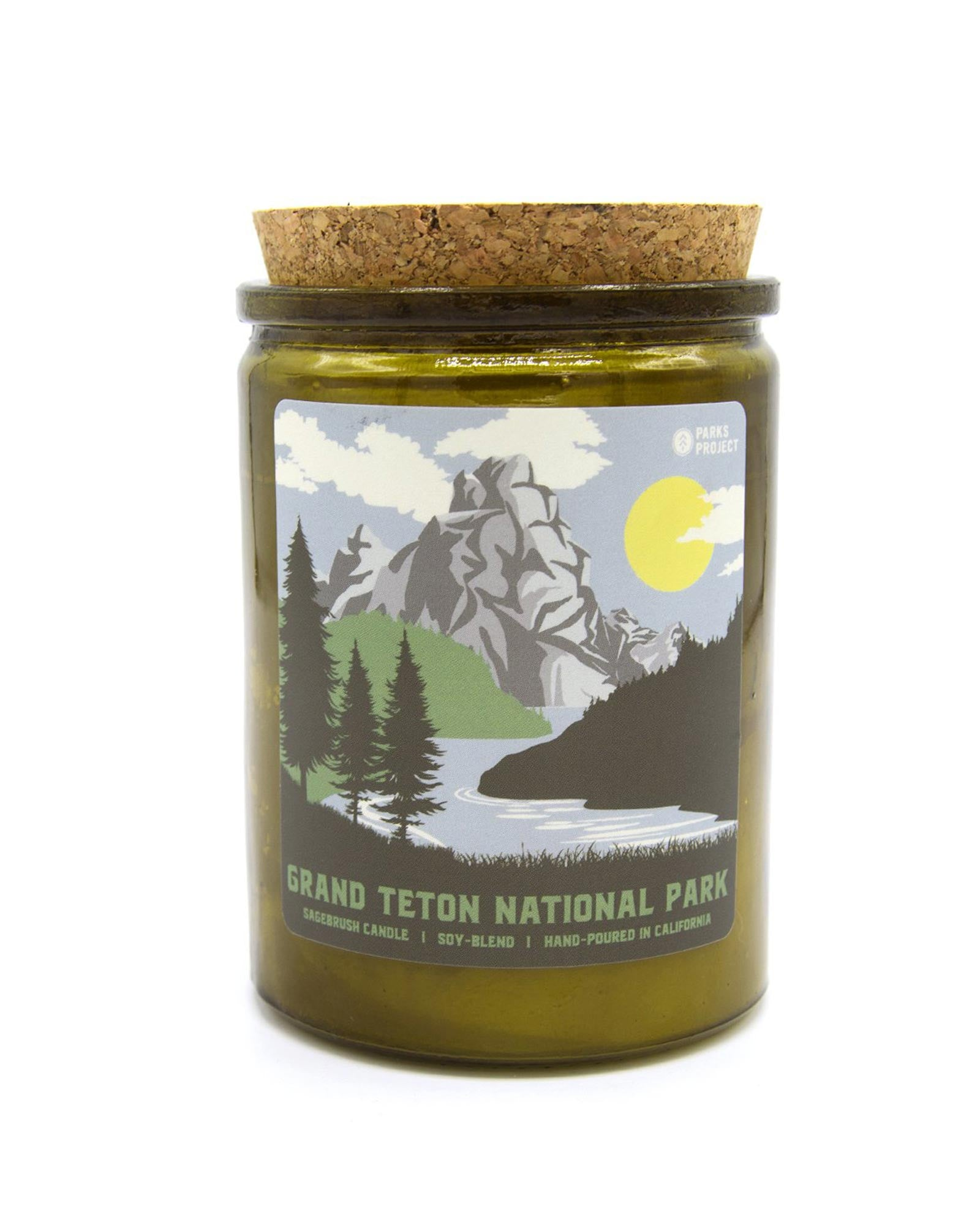 Grand Teton National Park Sagebrush Candle | Parks Project | National Park Candles
