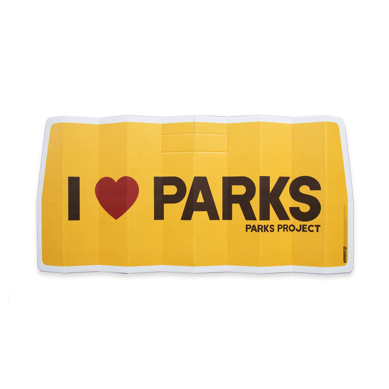I Heart Parks Car Sunshade | Parks Project | National Park Gifts