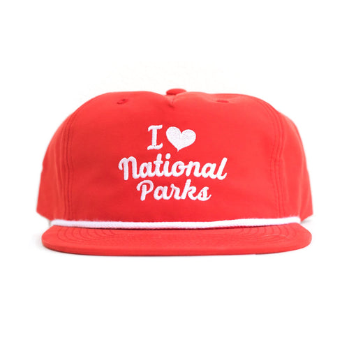 I Heart Parks Throwback Hat | Parks Project | National Parks Hats