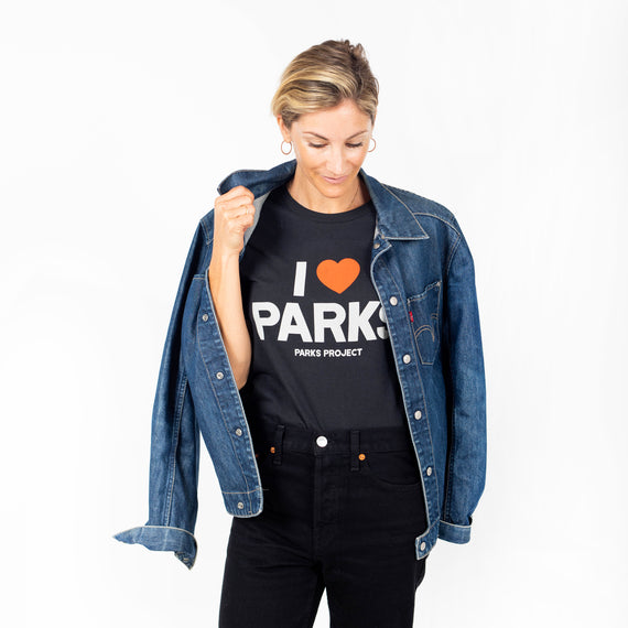 I <3 Parks Tee | Parks Project | Outdoor Apparel