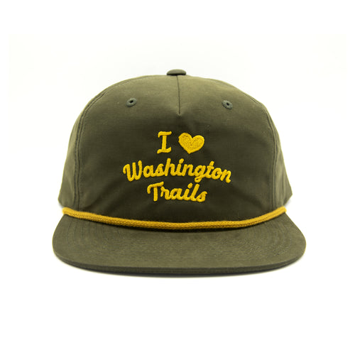 I Heart Washington Trails Throwback Hat | Parks Project | National Parks Hats