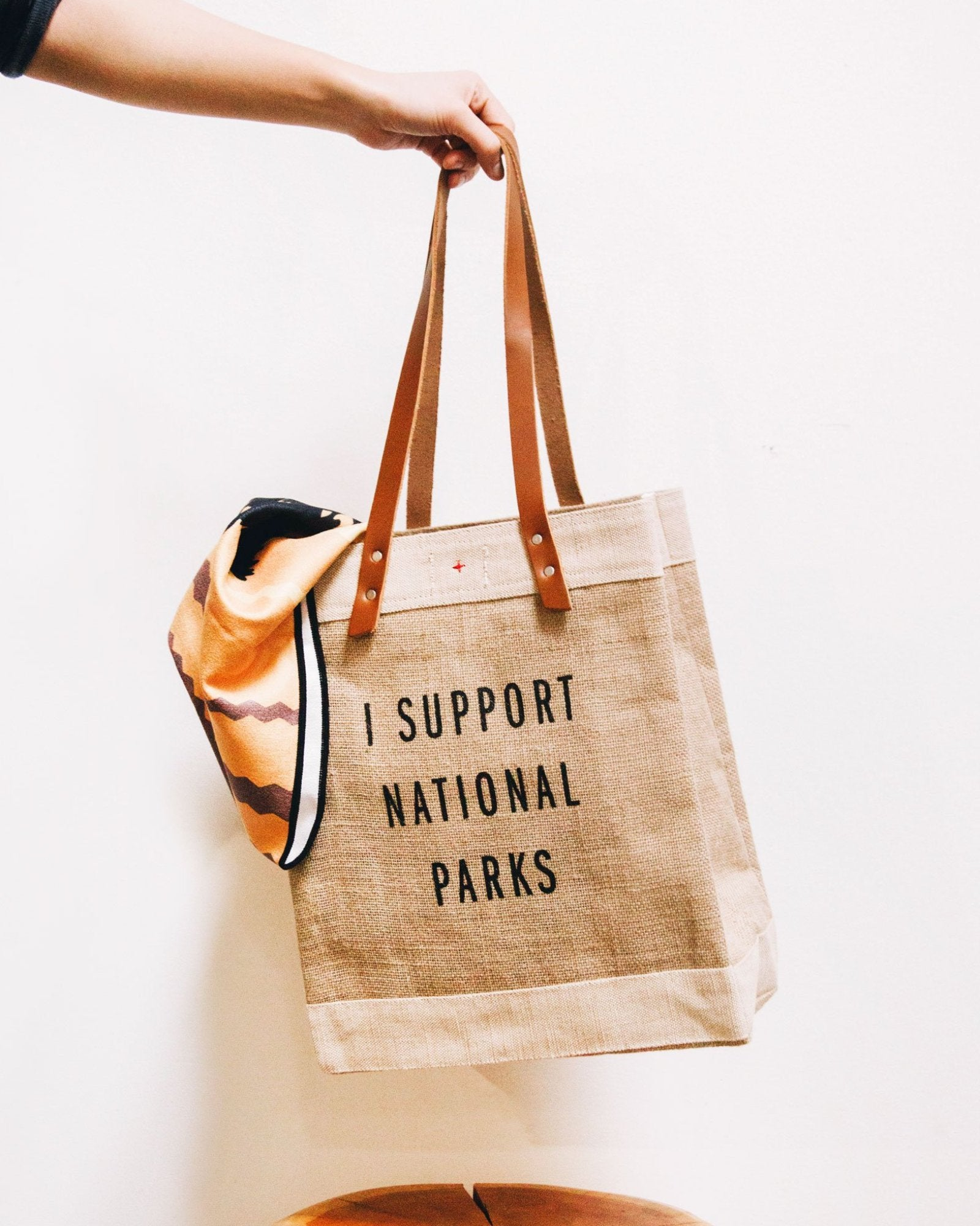Park Supporter Jute Tote