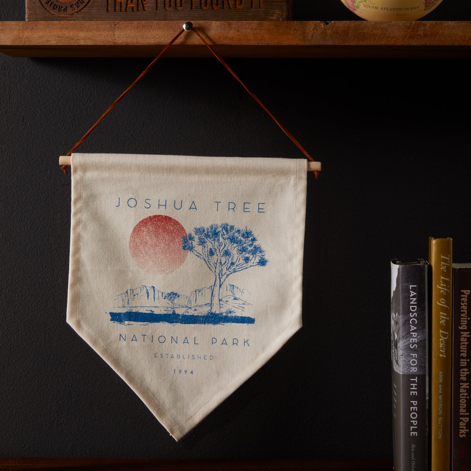 Joshua Tree Pennant | Parks Project | National Park Home Goods